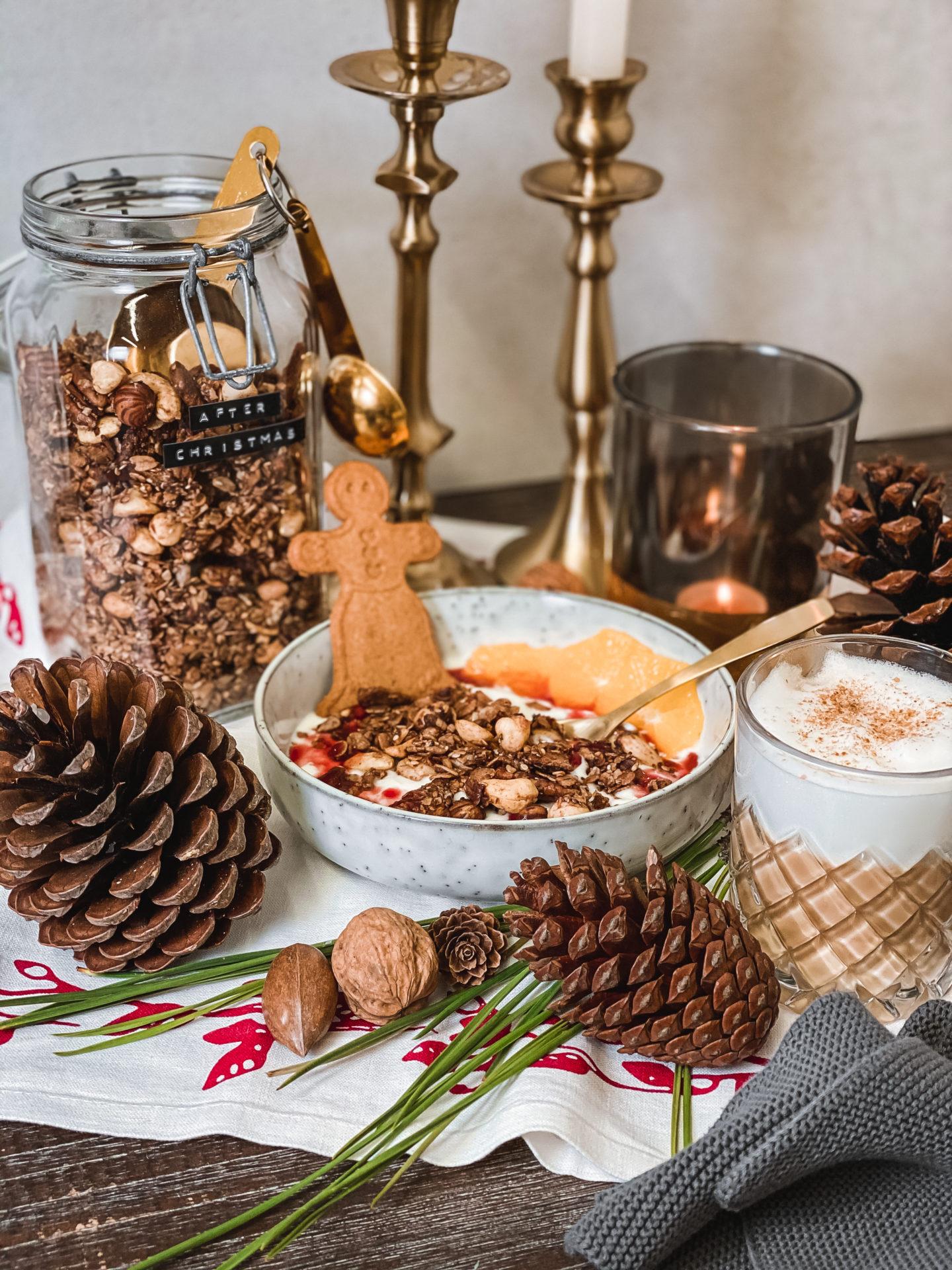 FOOD | After Christmas Granola: Verwertung von Lebkuchen und Spekulatius damit nichts im Müll landet #againstfoodwaste 2