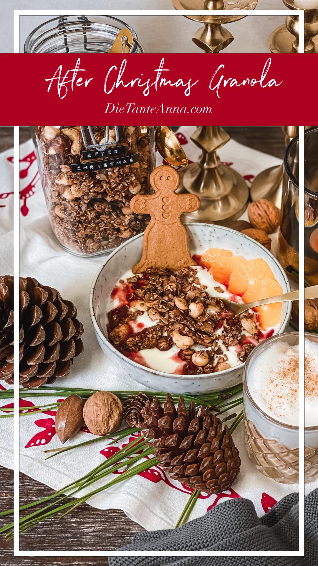 FOOD | After Christmas Granola: Verwertung von Lebkuchen und Spekulatius damit nichts im Müll landet #againstfoodwaste 1